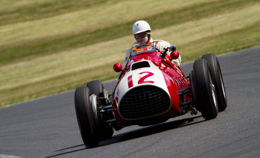 Vintage Italian Grand Prix cars showcased at the Italia Festival