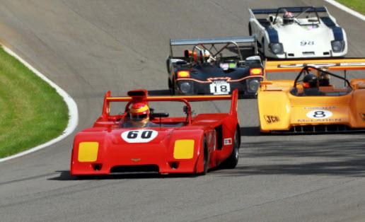 Historic sportscar racing at the Legends of Brands Superprix