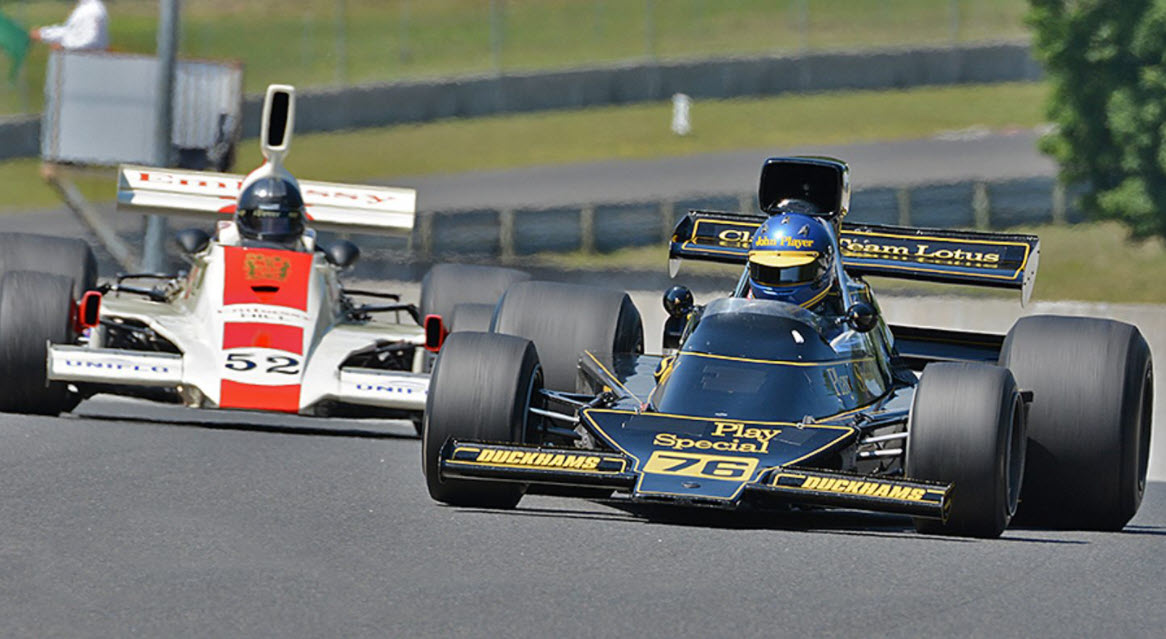 Historic F1 headlines the racing at the Finger Lakes Invitational at Watkins Glen