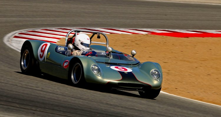 Vintage racing Lotus cars feature at the Utah SpeedTour