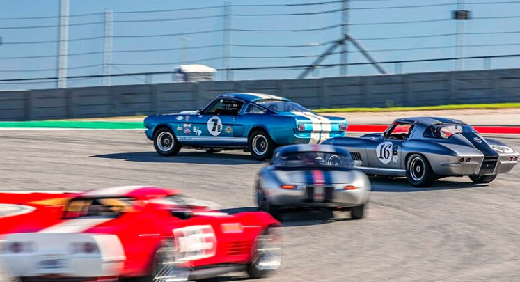 Vintage racing features at the SVRA's Austin SpeedTour event at the Circuit of the Americas