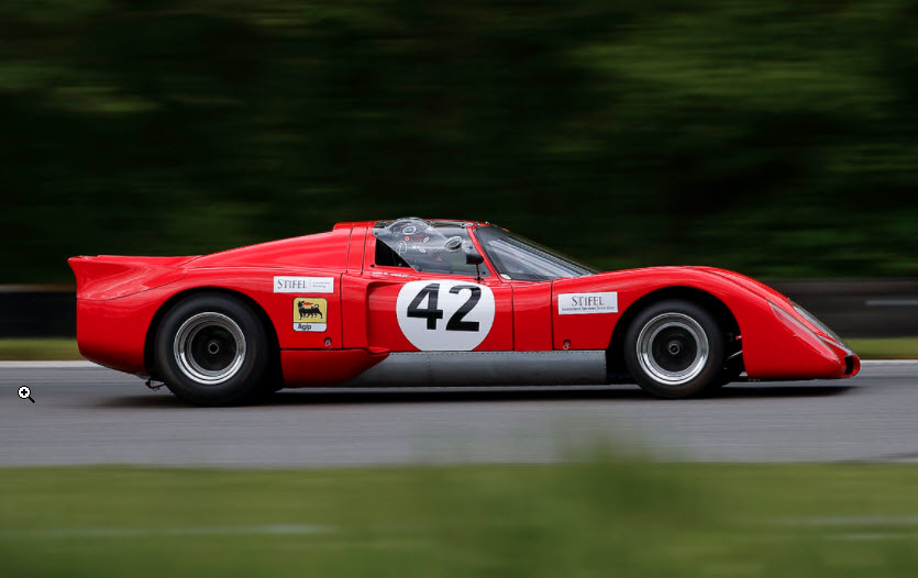 Vintage racing at the SVRA Memorial Day Motorsports Festival