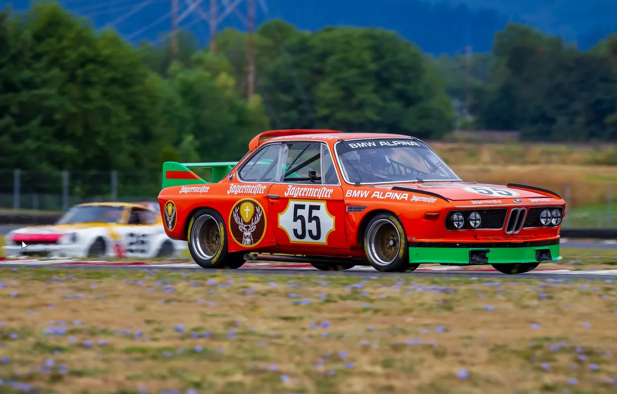 Vintage racing features at the Portland SpeedTour