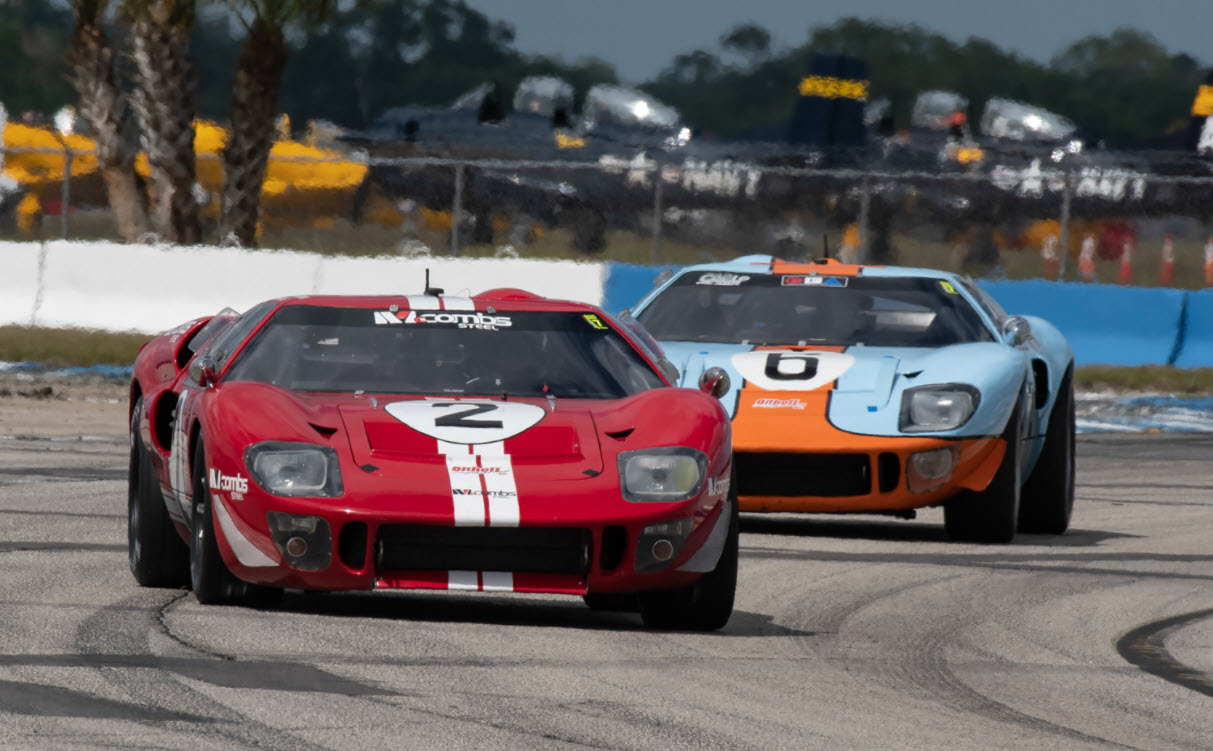 Historic sportscar racing at the Sebring Spring Fling