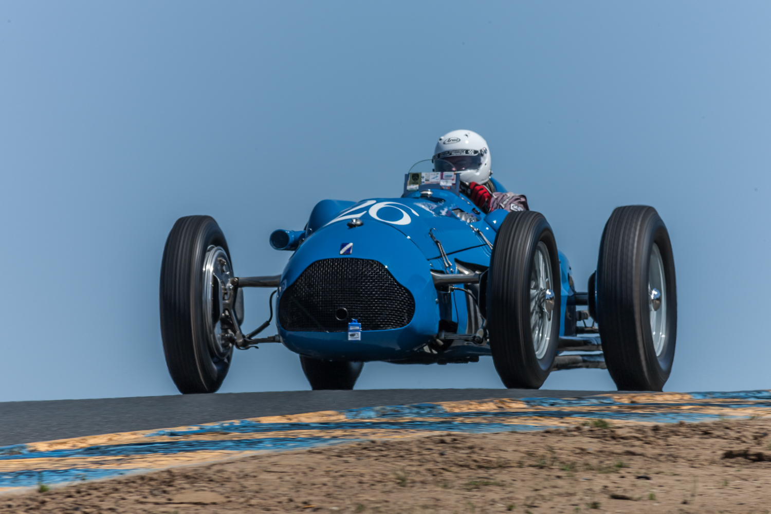 Vintage racing at the Sonoma Speed Festival