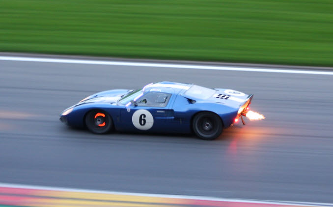 Historic endurance racing at the Spa Six Hours