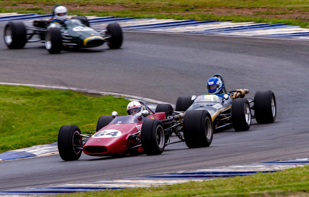 Historic racing at the HSRCA Spring Festival