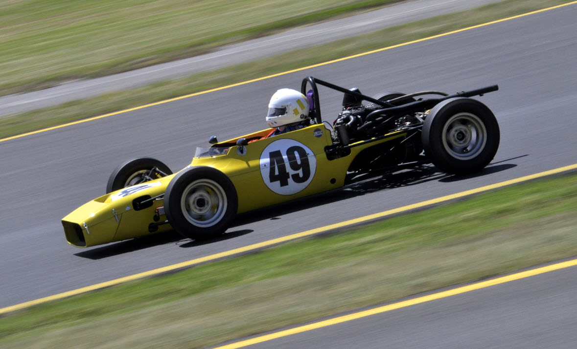 Historic racing at the HSRCA Summer Festival
