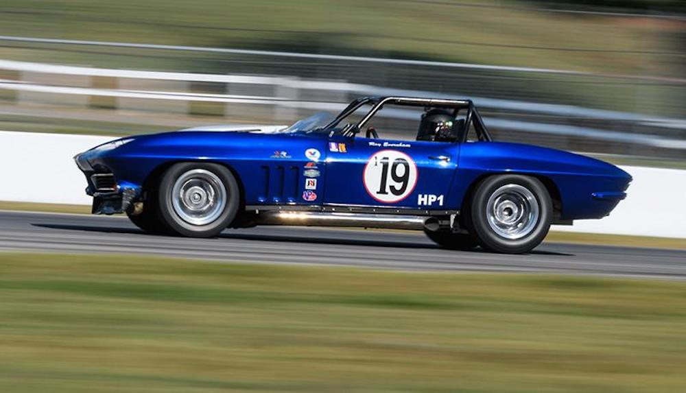 Corvettes feature at The Mitty at Road Atlanta