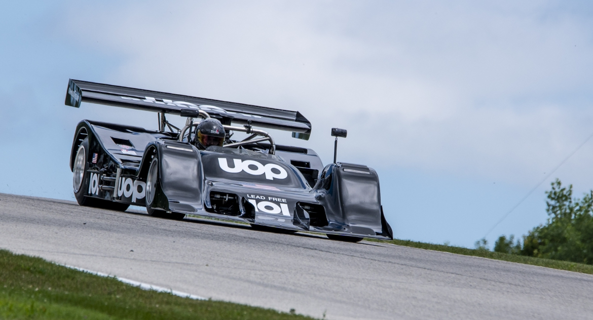 Vintage Can-Am racing at the Weathertech International event at Road America
