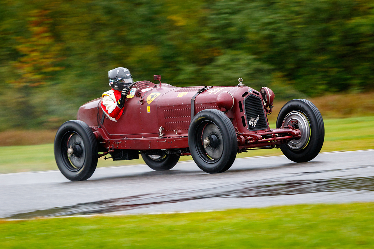 Vintage racing features at the VSCCA Empire Cup at Lime Rock Park