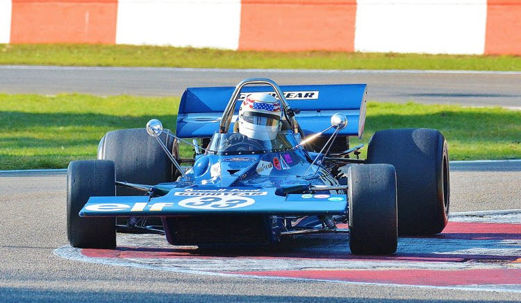 Tyrrell F1 illustrates 1970s GP racing as featured at the Historic Grand Prix Zolder