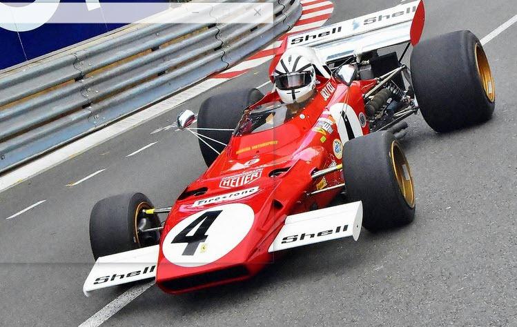 Iconic Ferrari Formula 1 at the Historic Grand of Monaco