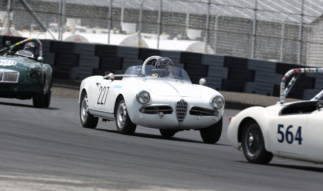 Classic sportscars feature at the VSCCA Vintage Motorsports Festival at Thompson Speedway