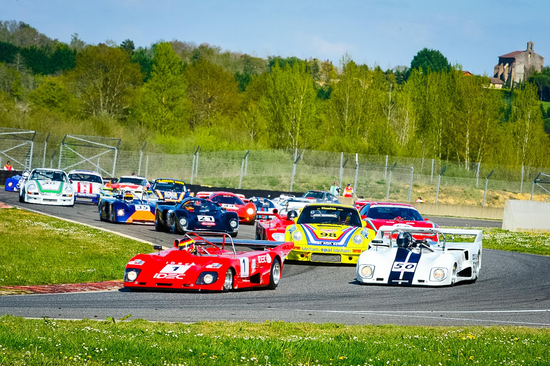 Historic sportscar racing at Peter Auto's Nogaro Classics